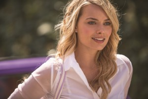 "The lovely Charlotte (Margot Robbie) affords an apprentice time traveler – and an apprentice romantic – an opportunity to learn the ways of love in the new romantic comedy, ""About Time."" Photo by Murray Close, courtesy of Universal Studios."