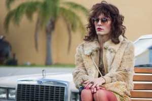 "Transsexual AIDS patient Rayon (Jared Leto) becomes an unlikely business partner for a distributor of alternate medical treatments in the dramatic new biopic, ""Dallas Buyers Club."" Photo by Anne Marie Fox, courtesy of Focus Features."