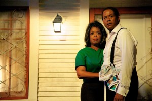 "White House domestic Cecil Gaines (Forest Whitaker, right) and his wife, Gloria (Oprah Winfrey, left), struggle to raise a family in the midst of the turbulent 1960s civil rights movement in ""Lee Daniels' The Butler."" Photo by Anne Marie Fox, courtesy of The Weinstein Co."