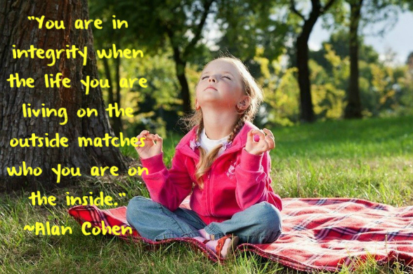 Alan Cohen quote on integrity