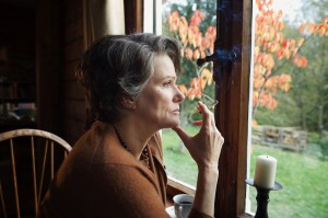 """Barbara Sukowa turns in a masterful performance as the title character in director Margarethe von Trotta's historical biography, """"Hannah Arendt."""" Photo courtesy of Zeitgeist Films."""