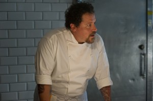 "High-profile Los Angeles chef Carl Casper (Jon Favreau) anxiously faces a potentially huge breakthrough in his career with the visit of an influential food critic to his upscale restaurant in the new independent comedy, ""Chef."" Photo by Merrick Morton, courtesy of Open Road Films."
