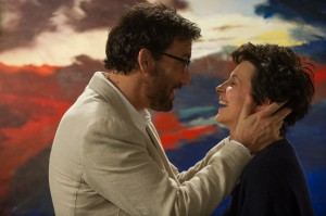 "Can love conquer all? That's an important question for prep school teachers Jack Marcus (Clive Owen, left) and Dina Delsanto (Juliette Binoche, right), a pair of one-time accomplished artists wrestling with personal challenges, in ""Words and Pictures."" Photo by Doane Gregory, courtesy of Roadside Attractions."