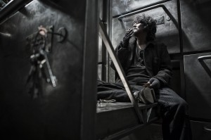 """An unjustly imprisoned security system designer, Namgoong Minsu (Song Kang-ho), comes to the aid of a rebel faction seeking to change the deplorable conditions of daily life aboard a post-apocalyptic survival train in director Bong Joon-ho's """"Snowpiercer."""" Photo courtesy of Radius-TWC."""
