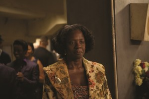 "Susie Brown (Viola Davis), the indifferent mother of soul singer James Brown, makes intermittent appearances in the life of her famous son in director Tate Taylor's ""Get On Up."" Photo by D. Stevens, courtesy of Universal Studios."