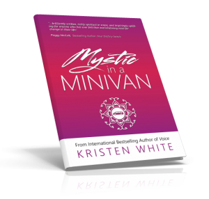Mystic in a minivan Book cover Tilted 3d