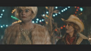 "The skeleton twins – Milo (Bill Hader, left) and Maggie (Kristen Wiig, right) – seek an escape from their everyday anguish by enjoying a night out at a community Halloween party, a celebration of their favorite holiday, in ""The Skeleton Twins."" Photo courtesy of Roadside Attractions."