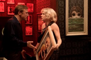 """So who painted these pictures any way – artist Margaret Keane (Amy Adams, right) or her opportunistic husband, Walter (Christoph Waltz, left)? That's the question raised in the witty new biopic, """"Big Eyes."""" Photo courtesy of The Weinstein Co."""