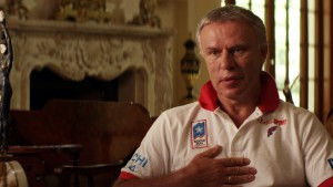 "Viacheslav ""Slava"" Fetisov, former defenseman for the Soviet national hockey team, serves as the principal storyteller of his squad's tremendous success in international tournament play in director Gabe Polsky's new documentary, ""Red Army."" Photo courtesy of Sony Pictures Classics."