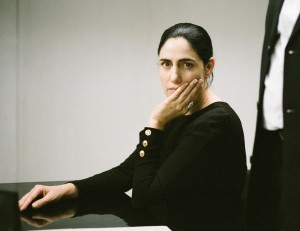 "Ronit Elkabetz co-wrote, co-directed and plays the title role in ""Gett: The Trial of Viviane Amsalem,"" the saga of an Israeli woman who endures a painfully protracted proceeding to seek a divorce from her husband before a rabbinical tribunal. Photo courtesy of Music Box Films."