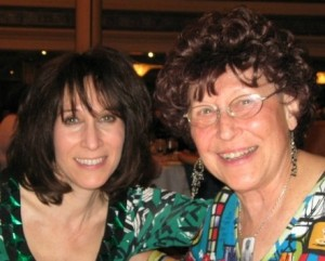 Liz Dawn and Mom, Ariel Wolfe - Founders of Mishka Productions and Celebrate Your Life!