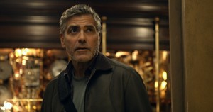 """Inventor Frank Walker (George Clooney) must decide whether to wallow in cynicism or take a chance on hope when the fate of the world hangs in the balance in """"Tomorrowland."""" Photo by Film Frame, courtesy of Walt Disney Pictures."""