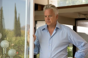 """Dr. Daryl Moffet (Tim Robbins), a kindly and extremely tolerant psychiatrist, counsels an eccentric patient suffering from borderline personality disorder in director Shira Piven's new dark comedy, """"Welcome to Me."""" Photo courtesy of Alchemy."""