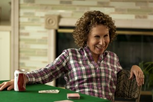 """Sally (Rhea Perlman), a retiree who encourages her widowed friend to re-engage in life, suggests activities like speed dating and group vacations to get back into the swing of things in """"I'll See You in My Dreams."""" Photo courtesy of Bleecker Street Media."""