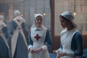 "Volunteer nurse Vera Brittain (Alicia Vikander, right) witnesses the horrors of combat up-close while treating wounded English soldiers during World War I in the emotive new release, ""Testament of Youth."" Photo by Laurie Sparham, courtesy of Sony Pictures Classics."