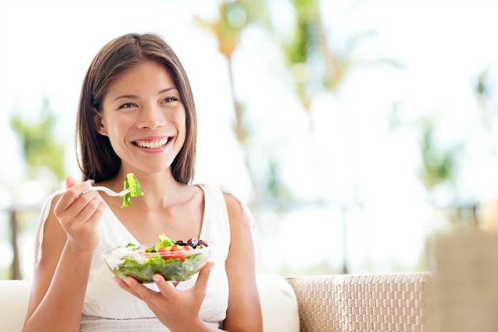 bigstock-Healthy-lifestyle-woman-eating-52049569