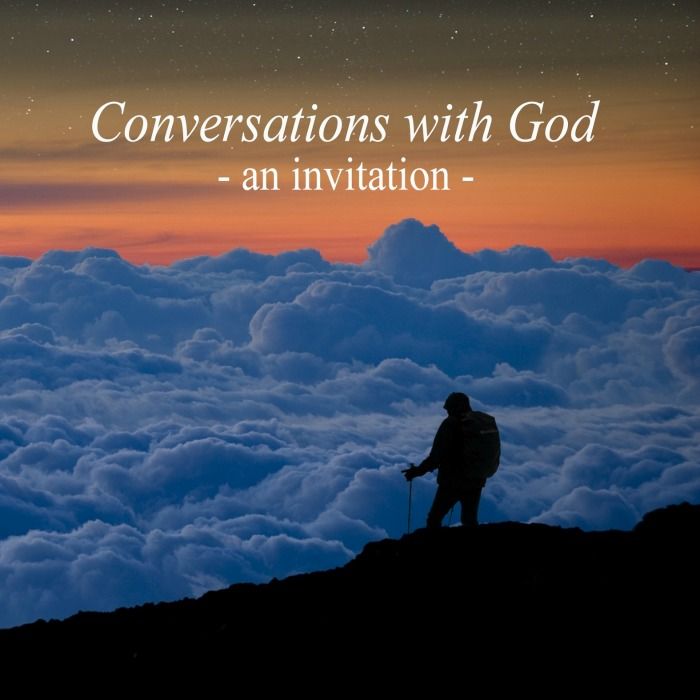 PhotoCoverConversations with God- An Invitation