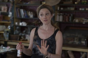 """A widow grieving the loss of her longtime partner seeks solace in a rocky relationship with a new, younger partner, Olivia (Judy Greer), in the recently released heartfelt comedy-drama, """"Grandma."""" Photo by Glen Wilson, courtesy of Sony Pictures Classics."""