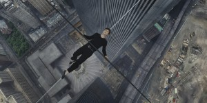 "With his fears in abeyance, high-wire artist Philippe Petit (Joseph Gordon-Levitt) takes on feats even more spectacular than he ever envisioned while traversing the space between the Twin Towers of New York's World Trade Center in director Robert Zemeckis's ""The Walk."" Photo courtesy of Sony Pictures, © 2015 CTMG, Inc."