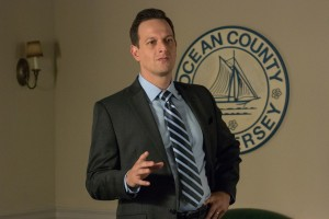 "Ocean County freeholder Bryan Kelder (Josh Charles) seeks to take the unprecedented step of breaking ranks with his fellow lawmakers when voting on a controversial issue involving pension benefit rights for same-sex couples in ""Freeheld."" Photo courtesy of Summit Entertainment."