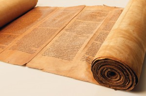 """An ancient Torah, as seen in the engaging documentary, """"Kabbalah Me."""" Photo courtesy of First Run Features."""