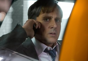 """Mark Baum (Steve Carell), a hedge fund manager with uncharacteristic scruples, intensely probes the impending collapse of the housing market to determine if the projections are legitimate, a story detailed in the engaging new docudrama, """"The Big Short."""" Photo by Jaap Buttendijk, courtesy © Paramount Pictures."""