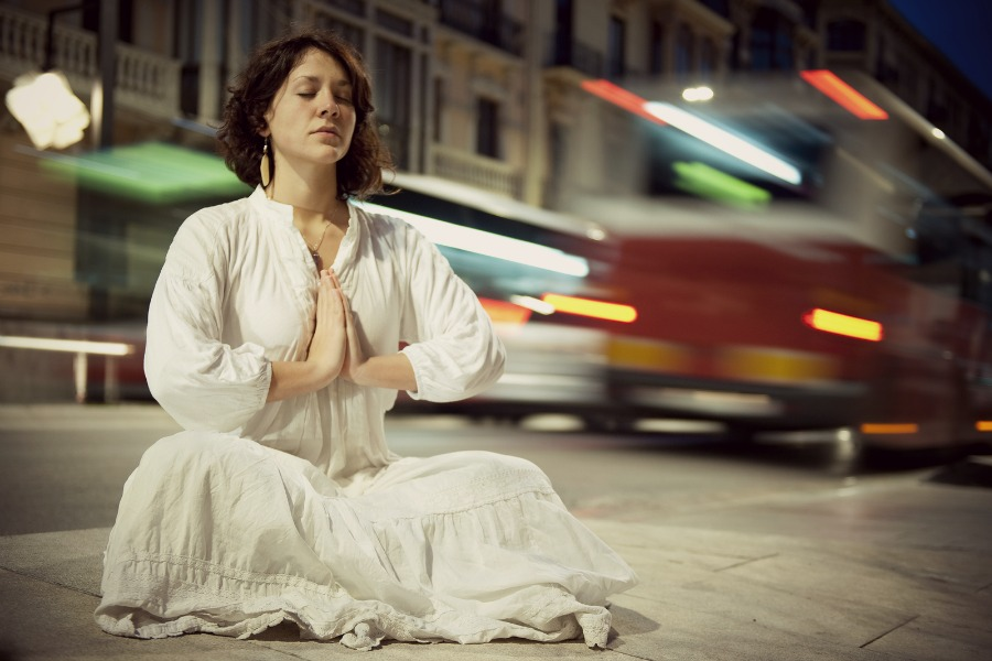bigstock-Young-woman-meditating-in-the--28364504
