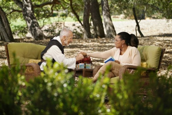 Oprah Winfrey is joined by Brother David Steindl-Rast, Benedictine monk